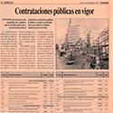 EXPANCSON -PRIMER DIA DE PUBLICACION -TABLA DE CONTRATACIONES PUBLICAS EN VIGOR-980912