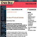 CINCO DIAS DIGITAL-REFORMA DE LEY DE CONTR.PUBLICAS-990305