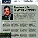 EMPRENDEDORES -CON TU FOTO-POLEMICA ANTE LA LEY DE CONTRACTOS-9905..