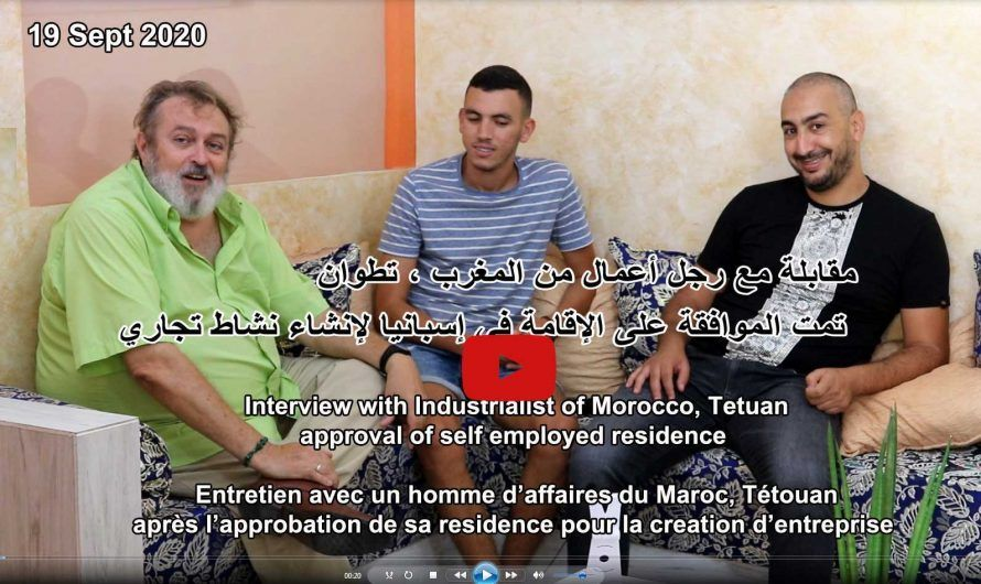 Entrevista con cliente de Tetouan, Marruecos