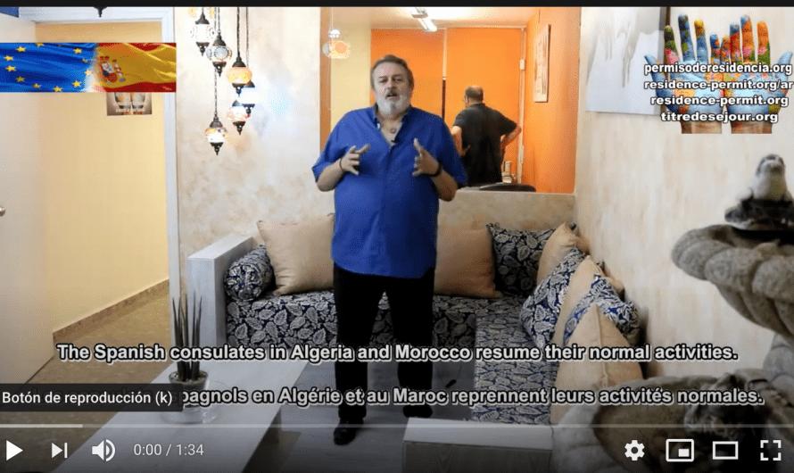 Los consulados españoles en Argelia y Marruecos retoman su actividad normal