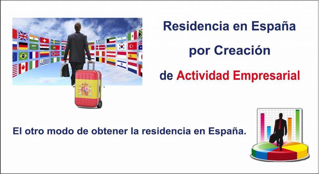 Permiso de residencia en España Por Creación de Empresa