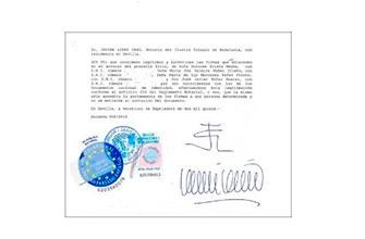 certificado sin cargas de hipotecas Visa Golden