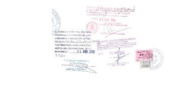 antecedentes penales en pais de origen