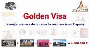 permiso de residencia golden visa