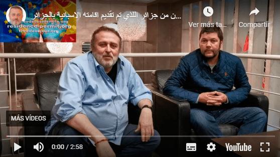 Entrevista a un ciudadano de Argelia