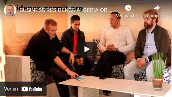 Entrevista residencia por negocios Algeria