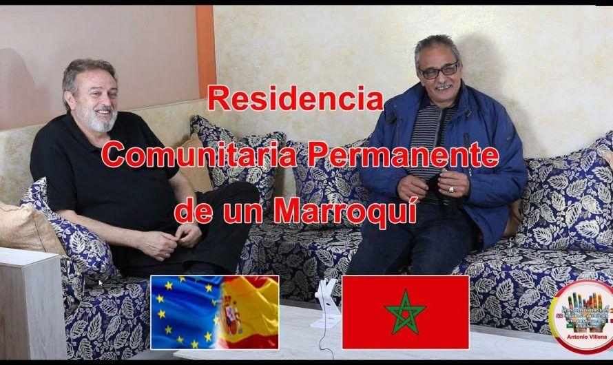 Residencia Comunitaria Permanente de un Marroquí