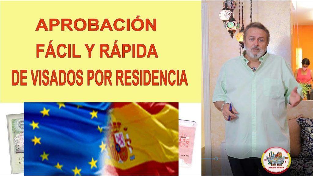 Aprobación rápida y fácil de visados a España por residencia