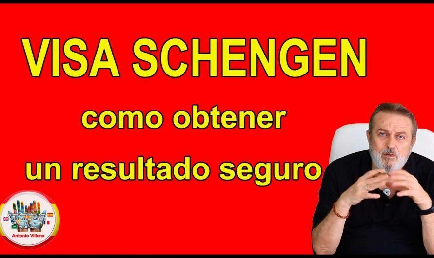 Visa schengen como obtener un resultado seguro