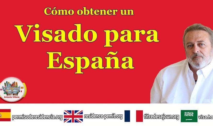 Cómo obtener un visado para España y Europa