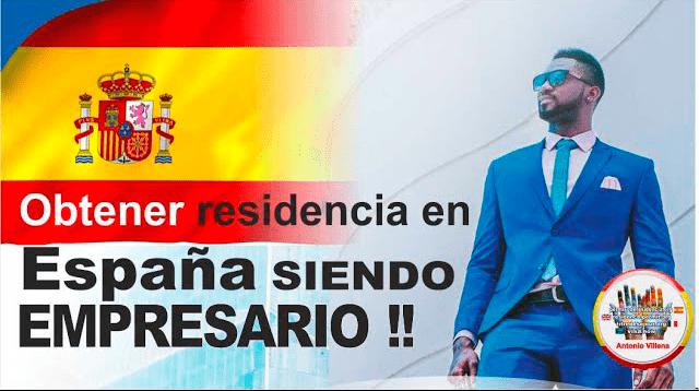 Obtener la residencia en España siendo empresario