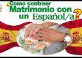 ¿ Como contraer Matrimonio con un Español /a ?